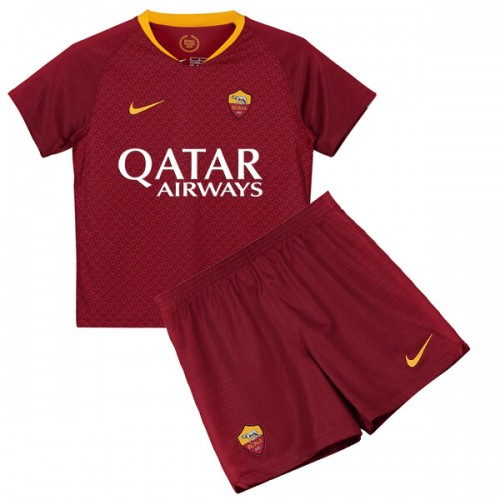 AS Roma Home Kids Football Kit 18 19