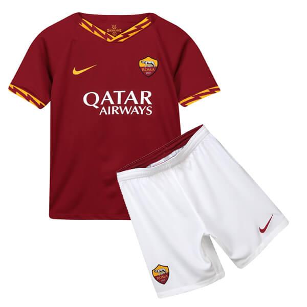 e2bbc18be AS Roma Home Kids Football Kit 19/20 - SoccerLord