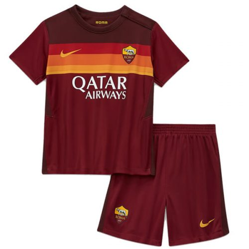 AS Roma Home Kids Football Kit 20 21