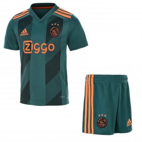 Ajax Away Kids Football Kit 19 20