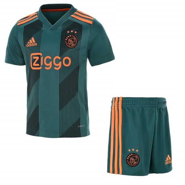 1c9ceb9a24b Ajax Away Kids Football Kit 19/20 - SoccerLord