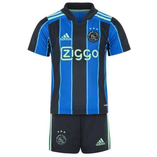 Ajax Away Kids Football Kit 21 22