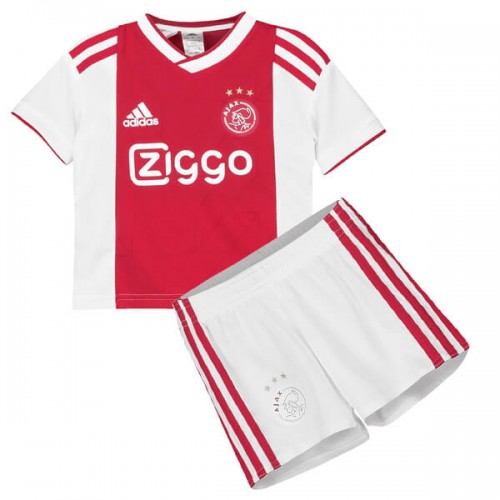 Ajax Home Kids Football Kit 1819