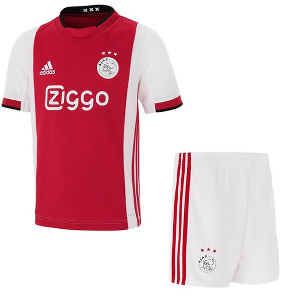 Ajax Home Kids Football Kit 19 20