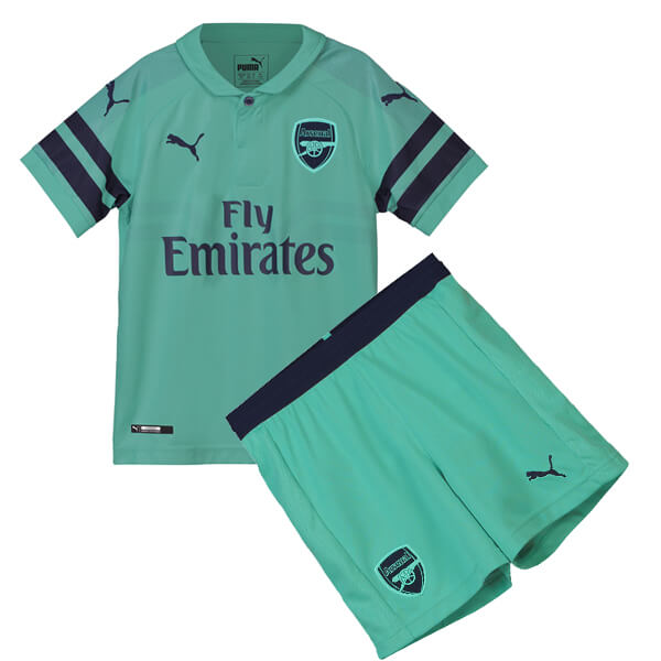 3a1ce0c7a2d Arsenal 3rd Kids Football Kit 18 19 - SoccerLord
