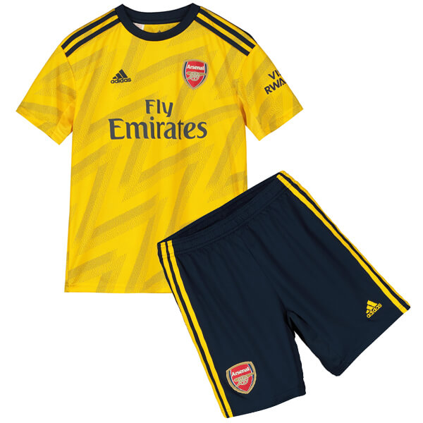 Arsenal Away Kids Football Kit 19 20