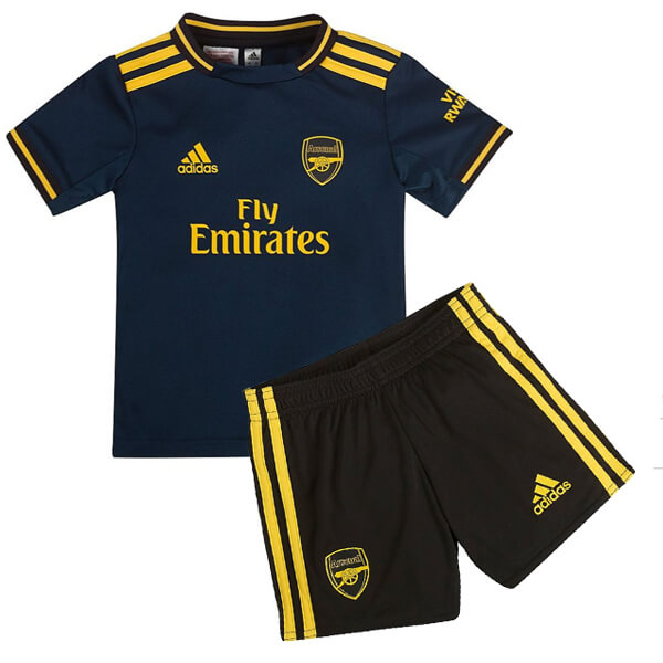 timeless design 7eb52 86049 Arsenal Third Kids Football Kit 19/20