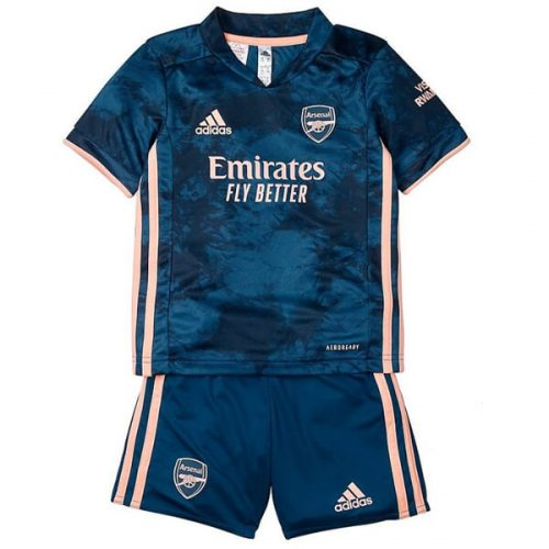 Arsenal Third Kids Football Kit 20 21