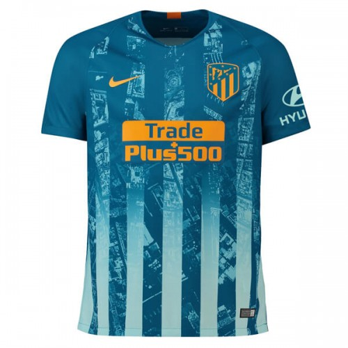 724ec47af Atletico Madrid 3rd Football Shirt 18 19. Atletico Madrid 3rd Soccer Jersey  ...