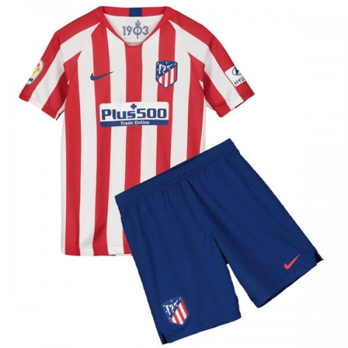 Atletico Madrid Home Kids Football Kit 19 20