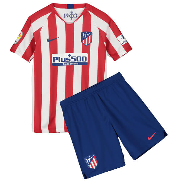 f7c1492cbee Atletico Madrid Home Kids Football Kit 19 20 - SoccerLord