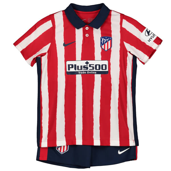 Atletico Madrid Home Kids Football Kit 20 21