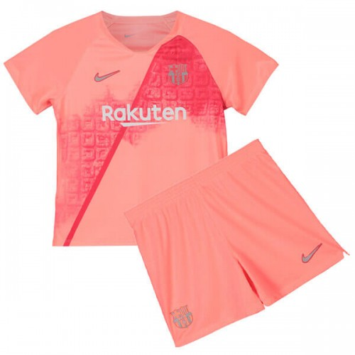 Barcelona 3rd Kids Football Kit 18 19