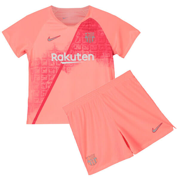 48a75298c Barcelona 3rd Kids Football Kit 18 19 - SoccerLord