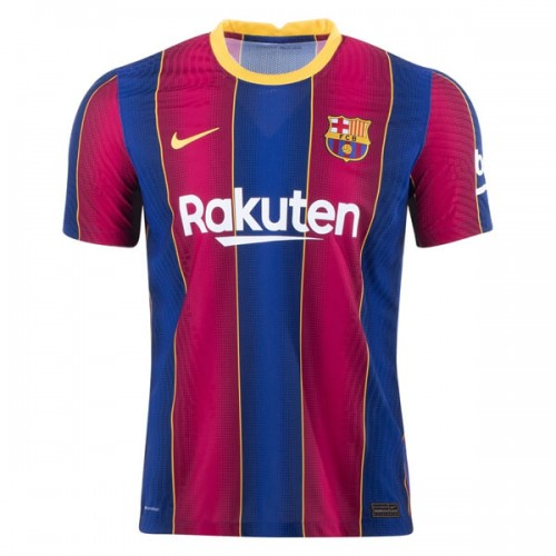 Barcelona Home Player Version Football Shirt 20 21