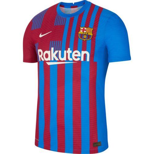 Barcelona Home Player Version Football Shirt 21 22