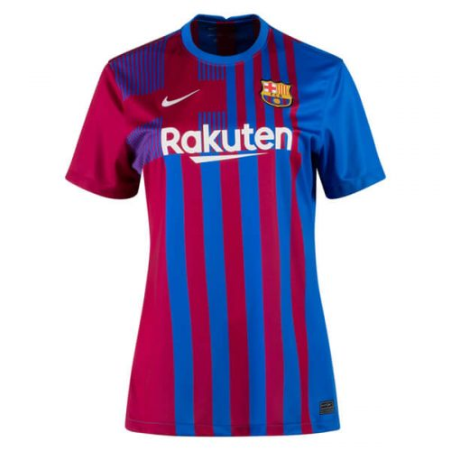 Barcelona Home Womens Football Shirt 21 22