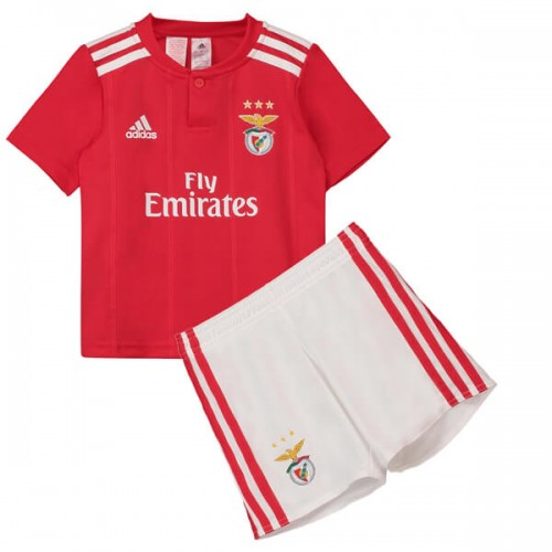 Benfica Home Kids Football Kit 1819