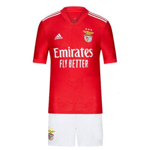 Benfica Home Kids Football Kit 21 22
