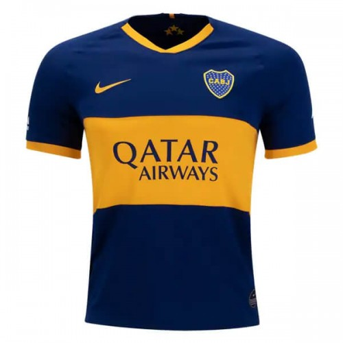 Boca Juniors Home Football Shirt 19 20
