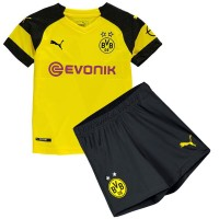 Borussia Dortmund Home Kids Football Kit 18 19