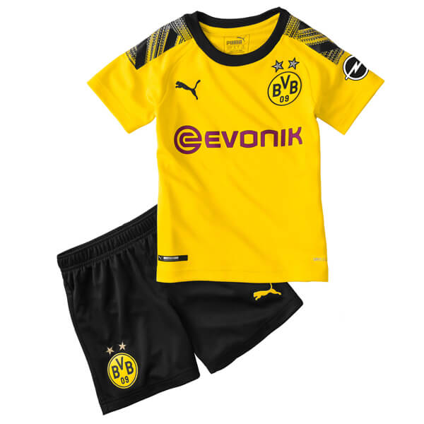 super popular ec8f1 2c180 Borussia Dortmund Kids Football Kit 19/20