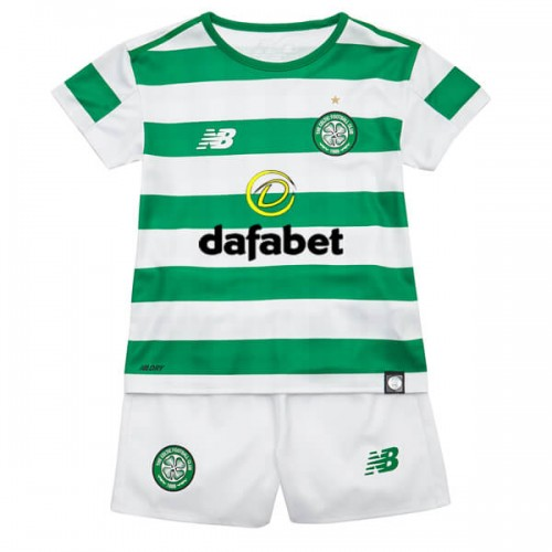 Celtic Home Kids Football Kit 18 19