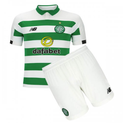 Celtic Home Kids Football Kit 19 20