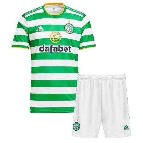 Celtic Home Kids Football Kit 2021