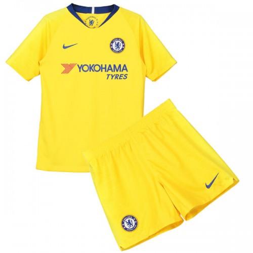 Chelsea Away Kids Football Kit 1819