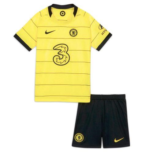 Chelsea Away Kids Football Kit 21 22