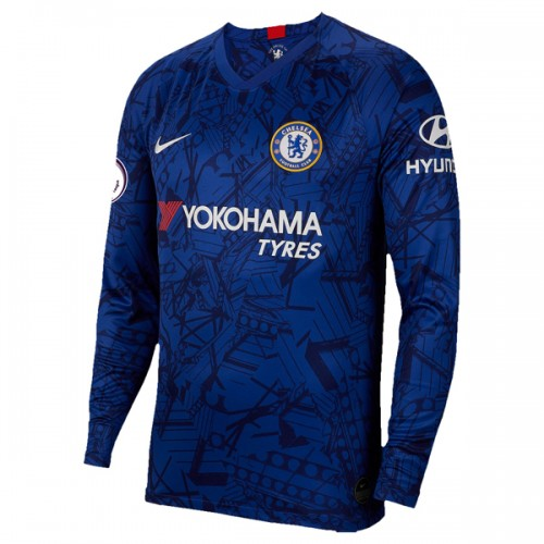 Chelsea Home Long Sleeve Football Shirt 19/20