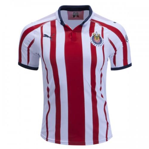 Chivas Home Soccer Jersey 18 19