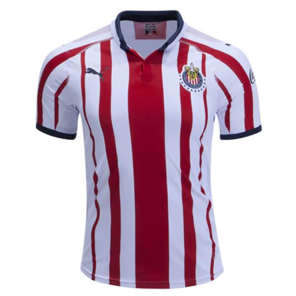 Chivas Home Soccer Jersey 18 19 - SoccerLord 5610c4d7a