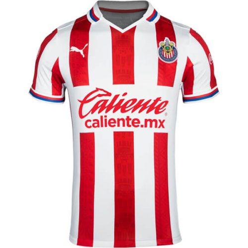 Chivas Home Soccer Jersey 20 21
