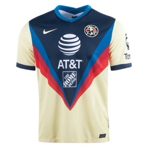 Club America Home Soccer Jersey 20 21