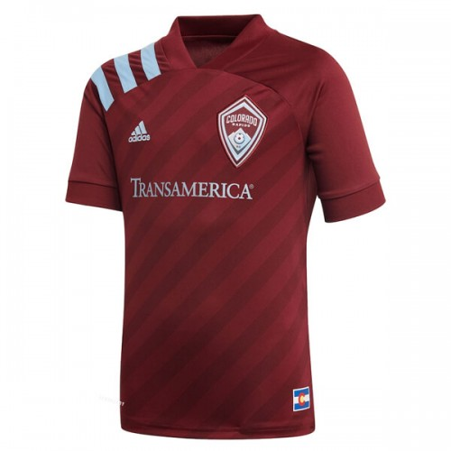 Colorado Rapids Home Soccer Jersey 2020