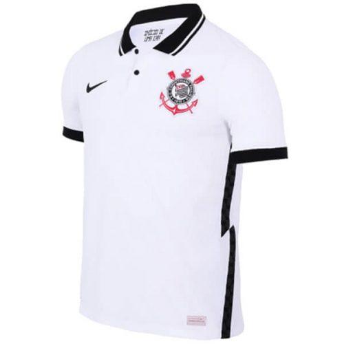 Corinthians Home Soccer Jersey 20 21