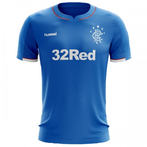 Glasgow Rangers Home Football Shirt 18 19