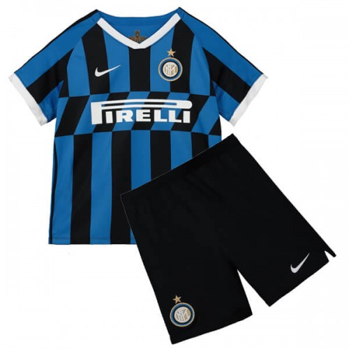Inter Milan Home Kids Football Kit 19 20