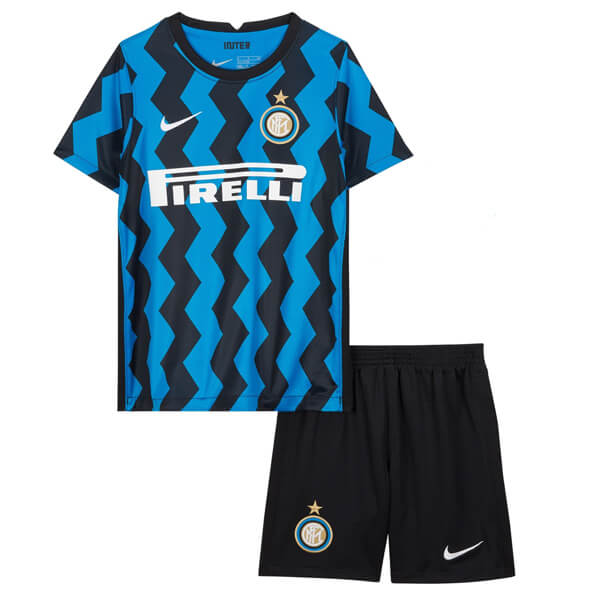 Inter Milan Home Kids Football Kit 20 21