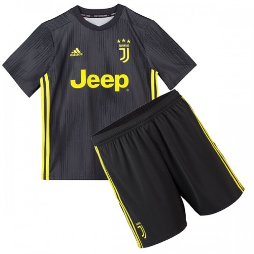 Juventus 3rd Kids Football Kit 1819