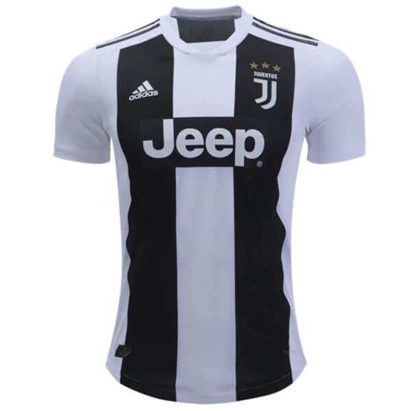 2d36ccc66 Juventus Home Player Version Football Shirt 18 19 - SoccerLord