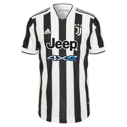 Juventus Home Player Version Football Shirt 21 22
