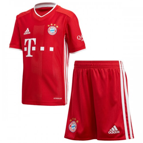 Kids Bayern Munich Home Football Shirt 20 21