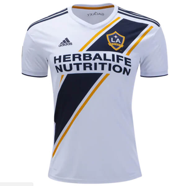 more photos baf58 638a9 LA Galaxy Home Soccer Jersey 2018