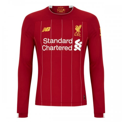 Liverpool Home Long Sleeve Football Shirt 1920