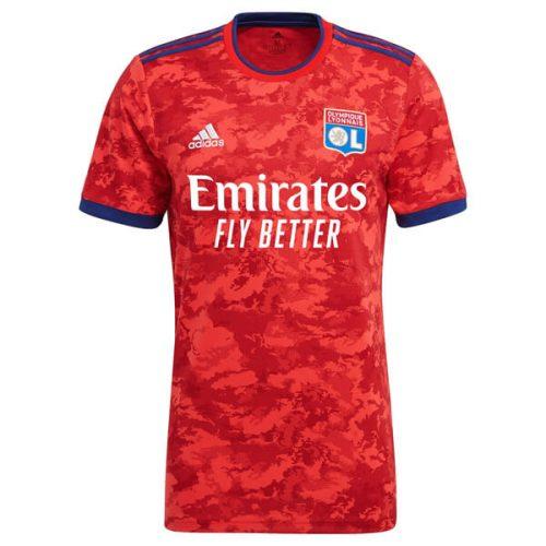 Lyon Away Football Shirt 21 22