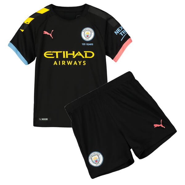 Manchester City Away Kids Football Kit 19/20