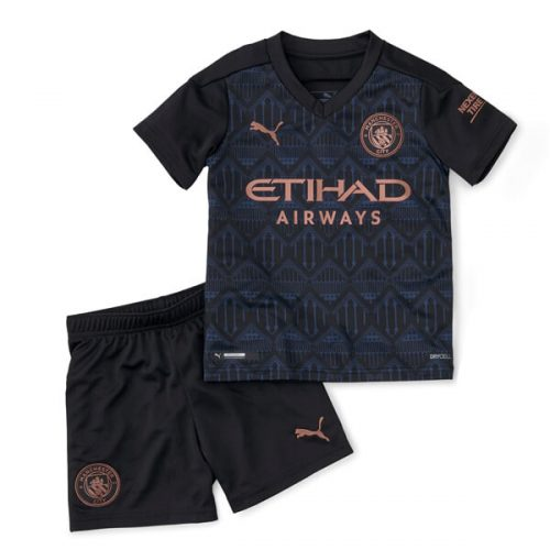Manchester City Away Kids Football Kit 20 21